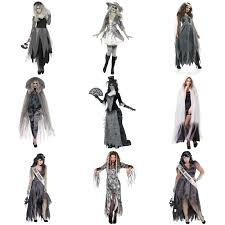 womens halloween ghost fancy dress costumes u0026amp capes corpse