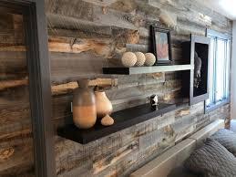 reclaimed weathered wood peel and stik wall planks vs