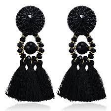 gaudy earrings big earrings
