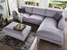 sofa ecken ecksofa reno mit hocker modern und kuschelig durch den weichen