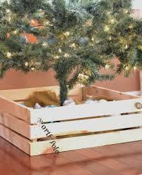 diy christmas tree stand cover i am a homemaker