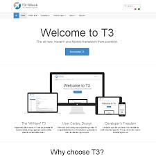 joomla blank template t3 framework v3 joomland