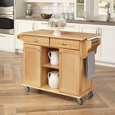 Kitchen Island On Casters Kitchen Carts