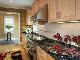 light wood kitchen cabinets with black countertops 43 kitchen countertops design ideas homeluf