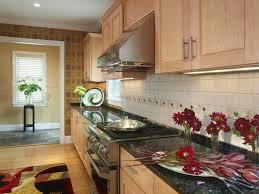 blue kitchen cabinets with black granite 43 kitchen countertops design ideas homeluf