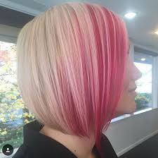 pink highlighted hair over 50 25 amazing two tone hair styles trendy hair color ideas 2018