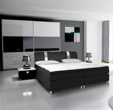 Schlafzimmer Komplett 140 Cm Bett Komplett Schlafzimmer Rivabox In Hochglanz Mit Boxspringbett Weiß