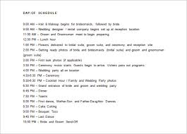 day schedule template u2013 8 free sample example format download