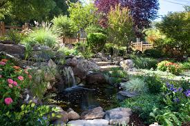 exterior design pond waterfall ideas for garden landscape design