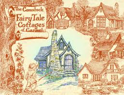 comstock fairy tale cottages of carmel by joanne mathewson