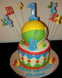 Music Party Theme Decorations Kids Birthday Music Theme Sweet Imaginations By Harshi Cakes