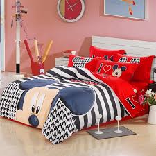 Minnie Mouse Infant Bedding Set Black Striped Red I Love Mickey Mouse Bedding Sets Mickey And