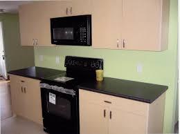 maple melamine kitchen