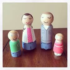 89 best peg dolls images on wooden pegs doll set and