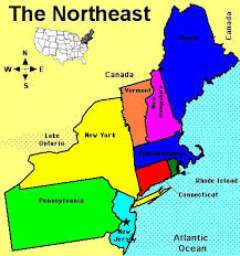 map us northeast northeastern states road map northeastern us maps in northeast
