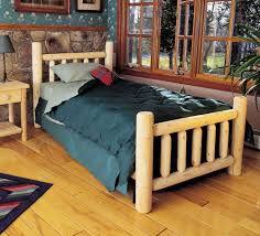 Twin Wooden Bed by Bedroom Comely Furniture For Rustic Bedroom Furnishing Decoration