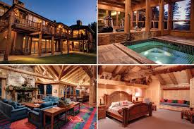 best luxury log cabins with tubs p27 in wonderful interior