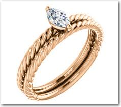wedding band that will go with my east west oval e ring show me your twisted rope style wedding bands weddingbee