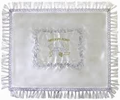 shabbat challah cover buy linen shabbat challah cover with gold colored 39
