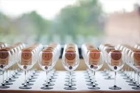 Wedding Favors by Bridal Shower Personalized Alluring Wine Glass Wedding Favors