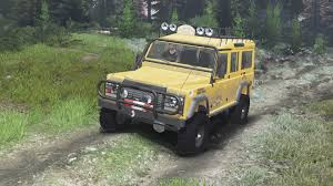 land rover defender 2016 land rover defender 110 camel trophy 03 03 16 for spin tires
