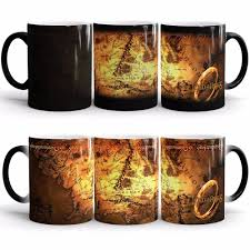 wholesale lord of the rings mugs color change ceramic coffee mug
