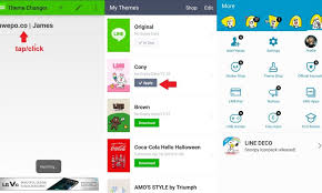 download theme line android apk cara download tema line di inwepo melewati link disingkat in inwepo