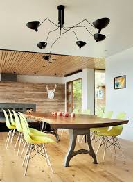 dinning rooms midcentury dining room with small live edge dining