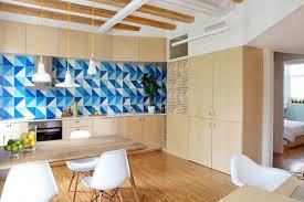 Temporary Kitchen Backsplash Kitchen Design White Marble Countertop Traditional Cabinet Blue
