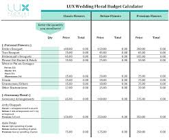 wedding flowers budget floral budget calculator wedding florist