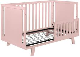 Grayson Mini Crib by Shermag Grayson Guard Rails Pink Shopcade Style U0026 Shopping