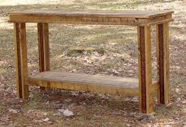 Rustic Sofa Table by Rustic Lodge Log And Timber Furniture Handcrafted From Green