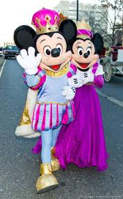 king mickey and minnie minnie mickey mouse
