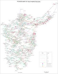 Grid Map Southern Regional Power Committee Govt Of India Ministry Of Power