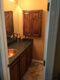 Bathroom Vanity Medicine Cabinet Custom Bathroom Vanity And Matching Medicine Cabinet Wood Knotty