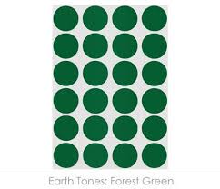 forest green color code 3 4 sheeted color code dot stickers 1 008 labels pack chromalabel