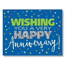 work anniversary cards anniversary sparkle card work anniversary greeting card