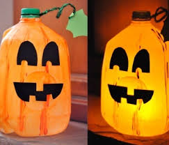 Halloween Crafts For Little Kids - simple jack o u0027lantern craft for little kids that will light up