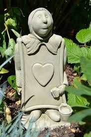 card in garden ornament sculpture