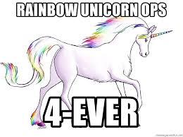 Unicorn Rainbow Meme - rainbow unicorn ops 4 ever rainbow unicorn meme generator