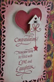 congrats on new card quietfire creations congratulations on your new home card