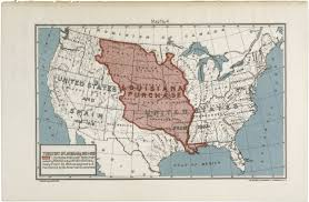 usa map louisiana purchase map of the louisiana purchase territory docsteach