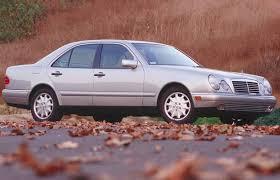 car review 1997 mercedes e420 driving