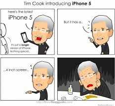 Funny Iphone Memes - tim cook introducing iphone 5 weknowmemes