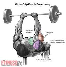 Wide Grip Bench Press For Chest Close Grip Bench Presses Exercise Pinterest Bench Press