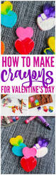how to make crayons homemade diy craft for valentine u0027s day such