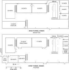 floor plan wind tunnel annex u2013 iihr u2013 hydroscience u0026 engineering