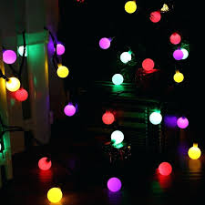starry string lights led multi colored globe string lights