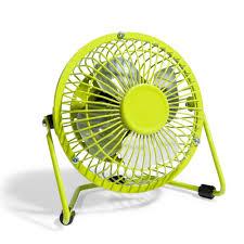 ventilateur de bureau usb mini ventilateur usb vert maisons du monde