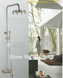 New Shower Faucet Fashion New Style Free Shipping Wall Mounted Rain Shower Faucet